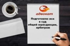 Составлю иск в суд общей юрисдикции, арбитраж, отзыв на иск 15 - kwork.ru