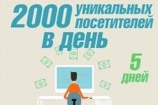 1 000 уникальных посетителей на сайт за 10 дней с Google Украина 21 - kwork.ru