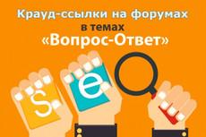 Оставлю ваше объявление на 10 тематических форумах 20 - kwork.ru