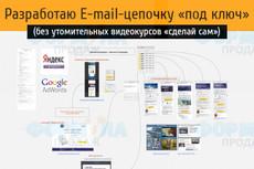 Разработаю схему автоворонки под ключ без утомительных видеокурсов 14 - kwork.ru