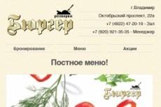 Сделаю адаптивную верстку HTML письма для e-mail рассылок 51 - kwork.ru