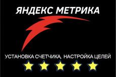 Установлю счетчик Яндекс. Метрики, Google Analytics 33 - kwork.ru