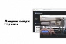 Сделаю landing page под ключ 28 - kwork.ru