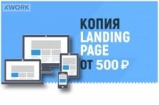 Сделаю копию Landing Page и размещу ее на хостинге 9 - kwork.ru