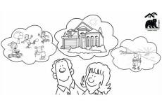 Сделаю для вас поздравительную открытку в технике doodle - видео 21 - kwork.ru