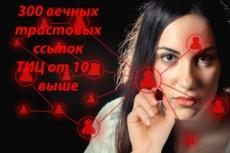 40 вечных трастовых ссылок с ТИЦ от 10 17 - kwork.ru