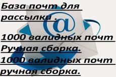 Быстрая сортировка почт по доменам 9 - kwork.ru