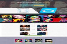 Красочный дизайн экрана вашего сайта, Landing Page 26 - kwork.ru