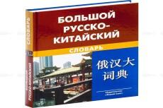 Качественный перевод на китайский язык. Носитель-китаец 18 - kwork.ru