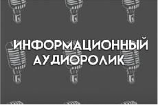 Озвучка информационного ролика 5 - kwork.ru