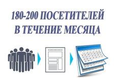 Предлагаю поднять посещалку 15 - kwork.ru