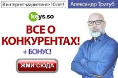 Целевые ключи из базы MOAB PRO - источник слов Яндекс. Метрика 15 - kwork.ru