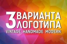 Разработаю для вас логотип 18 - kwork.ru