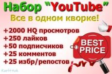 Добавлю 5000+ качественных просмотров в YouTube + Бонус 150 лайков 5 - kwork.ru