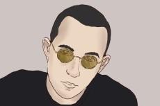 Портрет в графическом редакторе по фото 27 - kwork.ru