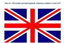 Литературный перевод с английского на русский - до 5 000 символов 3 - kwork.ru