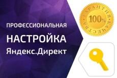 Заказать настройку Яндекс Директ. Под ключ 32 - kwork.ru