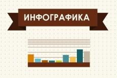 Сделаю уникальную инфографику на предложенную тему 23 - kwork.ru