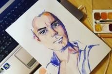 Портрет аватарка для социальных сетей 17 - kwork.ru