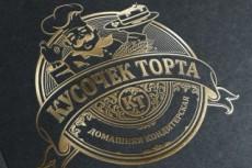 Предлагаю разработать дизайн для Вашего логотипа 35 - kwork.ru
