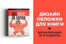 Создам обложку для вашей книги, коробки, курса, DVD, и тп 27 - kwork.ru