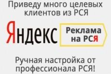 Я. Директ. Поиск + РСЯ в одном кворке 20 - kwork.ru