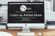 Любая работа в Adobe Muse, создание сайтов, редактирование, виджеты 6 - kwork.ru