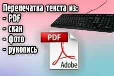 Печать и редактирование текстов 23 - kwork.ru