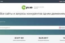 Соберу ключевые слова конкурентов 50 сайтов 14 - kwork.ru