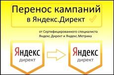 Перенесу до 3 кампаний из Директа в еЛаму 17 - kwork.ru