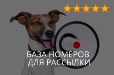 База email контактов женщин Москвы, база девушек 28 - kwork.ru