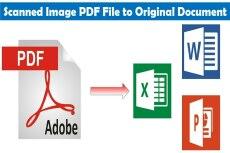 Конвертация текстовых файлов PDF, RTF, WORD и иных форматов 7 - kwork.ru