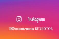 3000 Качественных Подписчиков Instagram плюс Лайки 9 - kwork.ru