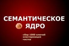 Семантическое ядро до 700 ключей, + расчет конкурентности в выдаче KEY 17 - kwork.ru