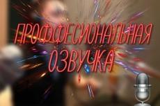 Озвучу текст для рекламы, презентации, видеоролика. разными голосами 14 - kwork.ru