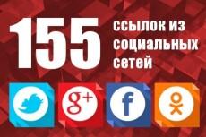 100 ссылок из социальных сетей 10 - kwork.ru