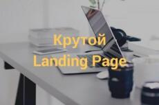 Скопирую дизайн Landing Page 3 - kwork.ru