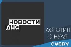 Качественный логотип по вашему рисунку 5 - kwork.ru