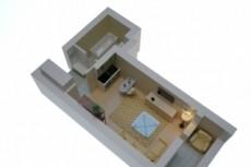 Выполню 3D модель дома, квартиры 16 - kwork.ru