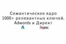 Сбор ключевых слов для контекстной рекламы или семантического ядра 12 - kwork.ru