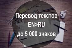 Художественный перевод текста с английского языка на русский 21 - kwork.ru