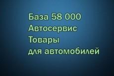 База компаний России - строительная сфера - ремонт - недвижимость 44 - kwork.ru