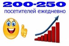 До 1000 уникальных посетителей в день на Ваш сайт в течение месяца 29 - kwork.ru