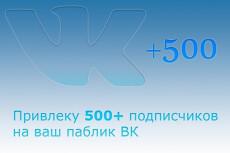 Добавлю 777 подписчиков в Вашу группу, паблик или на аккаунт ВК 16 - kwork.ru