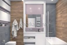 Дизайн ванной комнаты 32 - kwork.ru