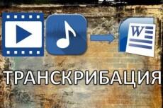 Переведу текст из видео и аудиоматериалов ,быстро ,грамотно 9 - kwork.ru