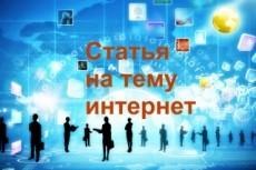 Уникальная статья 3500 символов 22 - kwork.ru
