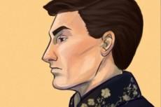 Сделаю полигональный портрет или картинку 24 - kwork.ru