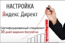 Реклама в Яндекс Директ под ключ 20 - kwork.ru