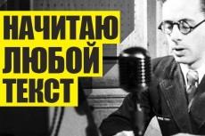Озвучка Видео Рекламы 3 - kwork.ru